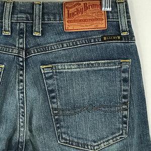 Lucky Brand Easy Rider Short Length Jeans